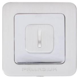 Накладка-фиксатор для дверей Palladium E BK, цвет палладий