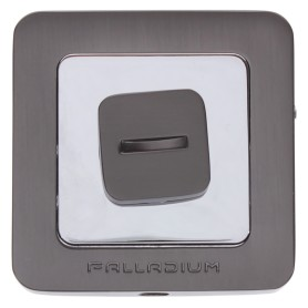 Накладка-фиксатор для дверей Palladium E BK, цвет графит