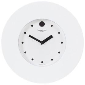 Часы настенные с точками цвет белый диаметр 37.5 см