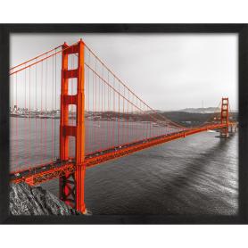 Картина в раме 40х50 см «Golden Gate»