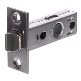 Защёлка межкомнатная Standers TL01-SN, сталь, цвет никель