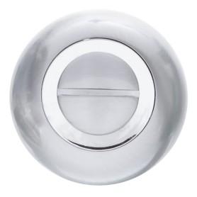 Фиксатор-вертушка для дверей Inspire круглый, цвет хром