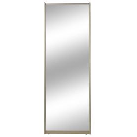 Дверь-купе, 2255х804 мм, цвет зеркало/шампань