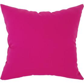 Подушка декоративная «Радуга» 40х40 см цвет фуксии