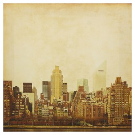 Картина на холсте «Городской пейзаж» 30х30 см