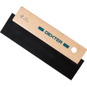 Шпатель для затирки швов Dexter, 195 мм, для темных оттенков затирок