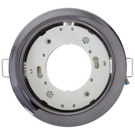 Светильник встраиваемый R75 GХ53 13 Вт цвет черный хром