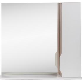 Шкаф зеркальный «Рондо»  75 см