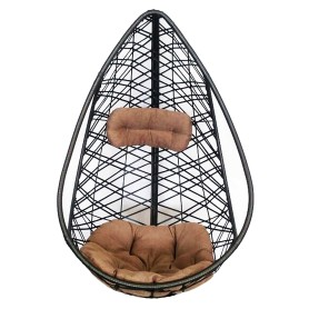 Кресло подвесное «Кения», цвет коричневый (без опоры)