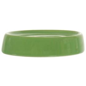 Мыльница настольная «Veta» керамика цвет зелёный