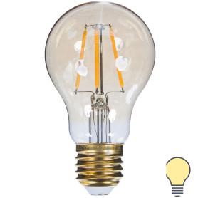 Лампа светодиодная Uniel Vintage E27 6 Вт 540 Лм цвет золотой