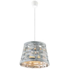 Подвесной светильник 15224 1xE27х60 Вт, цвет серый