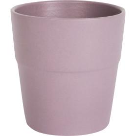 Кашпо цветочное «Элбербери», D12, 0, 8л. керамика, Фиолетовый, Розовый