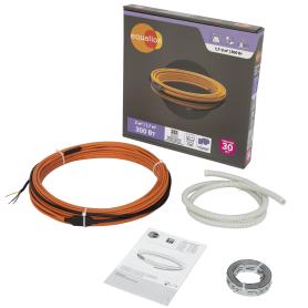 Нагревательный кабель для тёплого пола Equation 2 м², 300 Вт