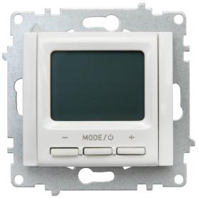 Терморегулятор электронный Equation, цвет белый