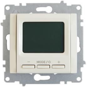 Терморегулятор электронный Equation, цвет бежевый
