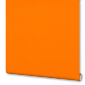 Обои флизелиновые Inspire с эффектом окрашенных стен оранжевые 0.53х10 м
