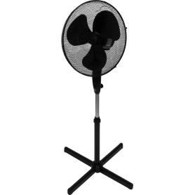 Вентилятор напольный Equation 45 Вт 40 см, 3 скорости, черный