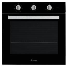 Духовой шкаф электрический INDESIT IFW 6530 BL, цвет чёрный