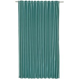Штора на ленте Inspire «Нью Силка», 200х280 см, цвет бирюзовый