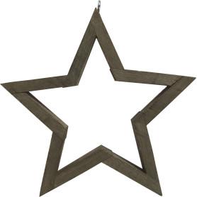 Украшение ёлочное «Звезда большая»