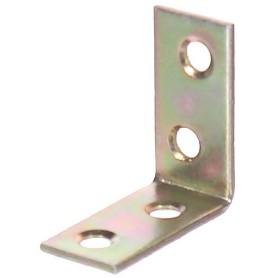 Уголок крепежный оцинкованный 30х14х30х1.75 мм