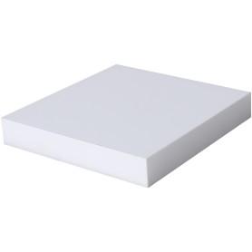 Полка мебельная прямая 230x230x38 мм, МДФ, цвет белый