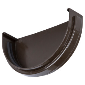 Заглушка Dacha 120 мм коричневый