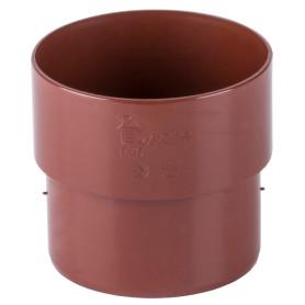 Соединитель желоба Dacha 80 мм красный
