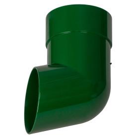 Слив трубы Dacha 80 мм зелёный