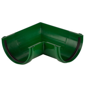 Угол желоба Dacha 120 мм 90 градусов зелёный