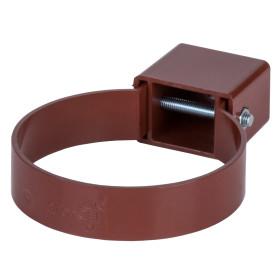 Хомут универсальный Dacha 80 мм красный