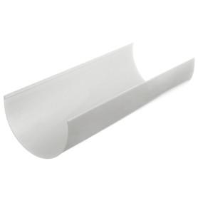 Желоб водосточный Dacha 120 мм 2 м белый