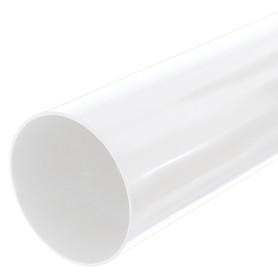 Труба водосточная Dacha 80 мм 1 м белый