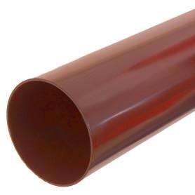 Труба водосточная Dacha 80 мм 1 м красный