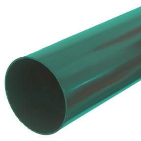 Труба водосточная Dacha 80 мм 3 м зелёный