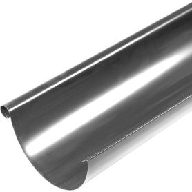 Желоб полукруглый 2000 D125 мм оцинкованный