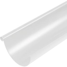Желоб полукруглый 3000 D125 мм цвет белый