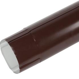 Труба круглая D90 мм 3000 мм цвет коричневый