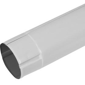 Труба круглая D90 мм 2000 мм цвет белый
