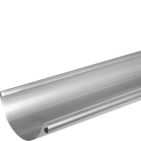 Желоб водосточный 2 м 125 мм оцинкованный