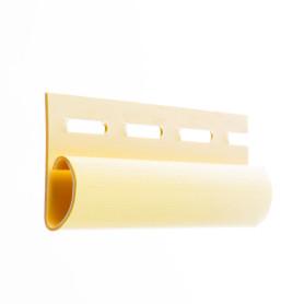 Финишная планка для сайдинга 3 м цвет желтый