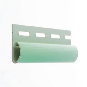 Финишная планка для сайдинга 3 м цвет светло зеленый