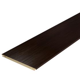 Добор дверной коробки Дюплекс/Фортуна 2150х100 мм, ПВХ, цвет венге