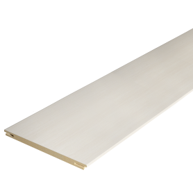 Добор дверной коробки Дюплекс/Фортуна 2150х100 мм, ПВХ, цвет белый дуб