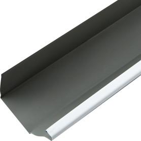 Желоб прямоугольный 2 м 120х86 мм цвет белый