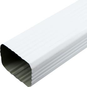 Труба водосточная 76х102х2000 мм цвет белый