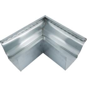 Угол желоба внешний 120х86 мм 90° оцинкованный