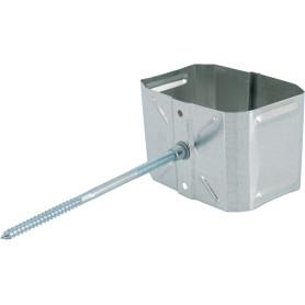 Хомут для водосточной трубы 76х102 мм оцинкованный
