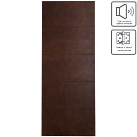 Дверь межкомнатная глухая шпон Антик 60x200 см, цвет дуб антик